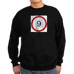 Speed sign 9 Jumper Sweater