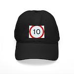 Speed sign 10 Baseball Cap