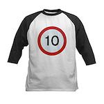 Speed sign 10 Baseball Jersey