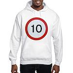 Speed sign 10 Jumper Hoody