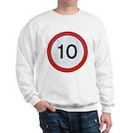 Speed sign 10 Jumper