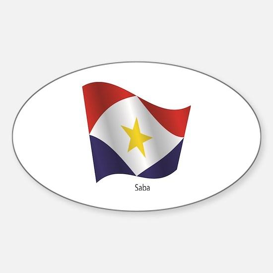 Cute Saba Sticker (Oval)