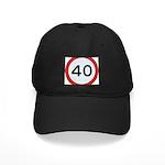 Speed sign 40 Baseball Cap