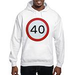 Speed sign 40 Jumper Hoody