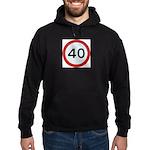 Speed sign 40 Hoody
