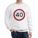 Speed sign 40 Jumper