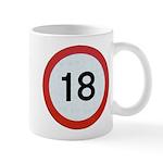 Speed sign 18 Mugs