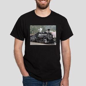 On Track: Steam train engine, Colorado T-Shirt