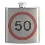 Speed sign 50 Flask