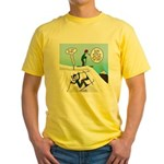 Ski Fall Yellow T-Shirt