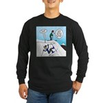 Ski Fall Long Sleeve Dark T-Shirt