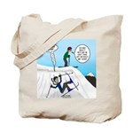 Ski Fall Tote Bag