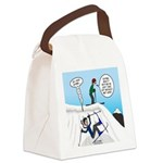 Ski Fall Canvas Lunch Bag