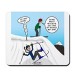 Ski Fall Mousepad