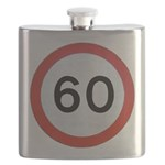 Speed sign 60 Flask