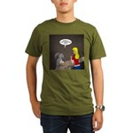 Bunny Hops Organic Men's T-Shirt (dark)