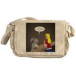 Bunny Hops Messenger Bag
