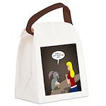 Bunny Hops Canvas Lunch Bag