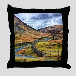 The Winding Way Throw Pillow