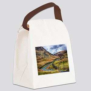 The Winding Way Canvas Lunch Bag