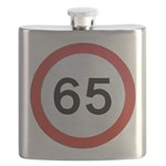 Speed sign 65 Flask