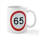 Speed sign 65 Mugs