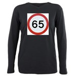 Speed sign 65 Plus Size Long Sleeve Tee