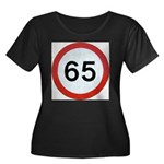 Speed sign 65 Plus Size T-Shirt