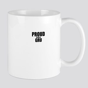 Proud to be GRU Mugs