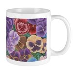 Pansies Flower Mug