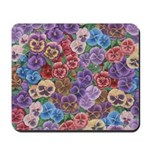 Pansies Floral Mousepad