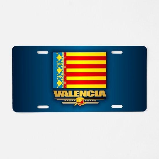 Valencia Aluminum License Plate