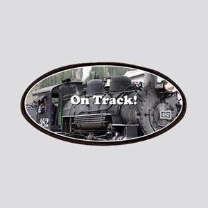 On Track: Steam train engine, Colorado Patch