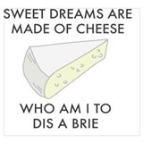 Funny brie Posters