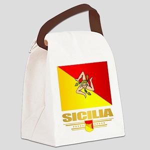 Sicilia Canvas Lunch Bag