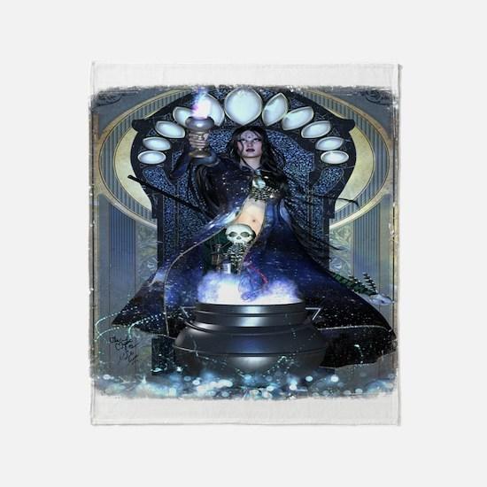 Mystic Cerridwen Altar Throw Blanket