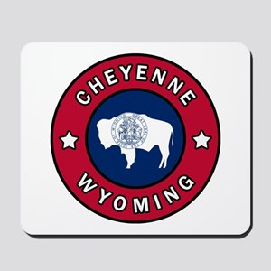 Cheyenne Wyoming Mousepad