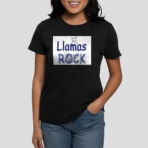 Llamas Rock Ash Grey T-Shirt