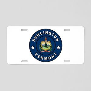 Burlington Vermont Aluminum License Plate