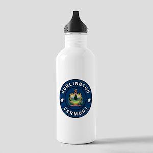 Burlington Vermont Stainless Water Bottle 1.0L