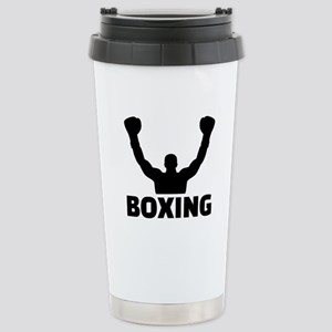 Boxing champion Stainless Steel Travel Mug