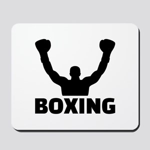 Boxing champion Mousepad