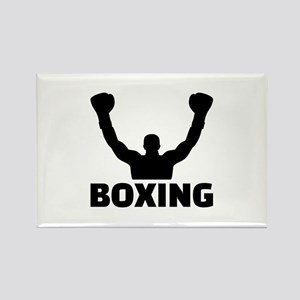 Boxing champion Rectangle Magnet