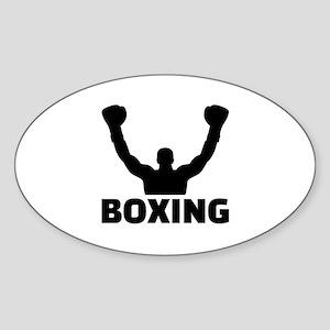 Boxing champion Sticker (Oval)