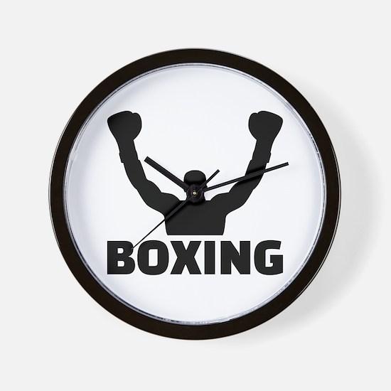 Boxing champion Wall Clock