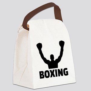 Boxing champion Canvas Lunch Bag