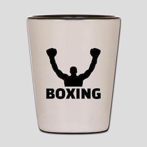 Boxing champion Shot Glass