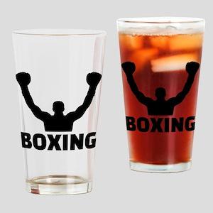 Boxing champion Drinking Glass