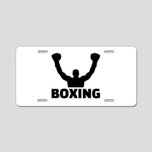 Boxing champion Aluminum License Plate