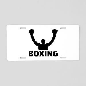 Boxing champion Aluminum License Plate